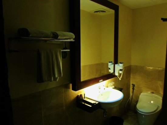 Best Western Kuta Villa: Cool Bathroom
