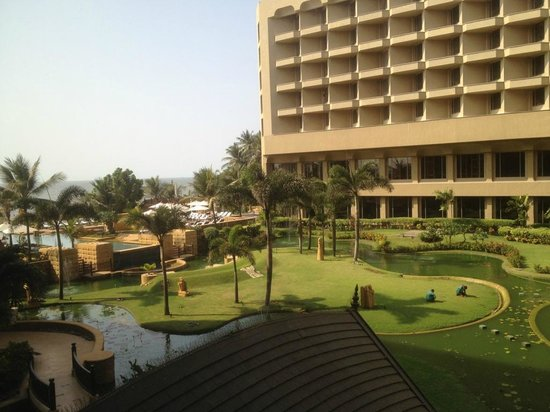 JW Marriott Mumbai Juhu: A view from the conf. room