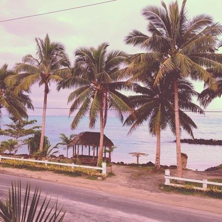 Amoa Resort:                   view from restauraunt
