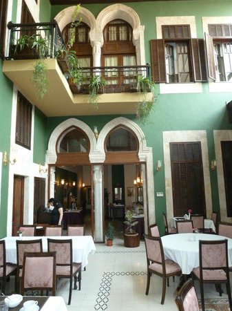 The Liwan Hotel: Inside the dining courtyard