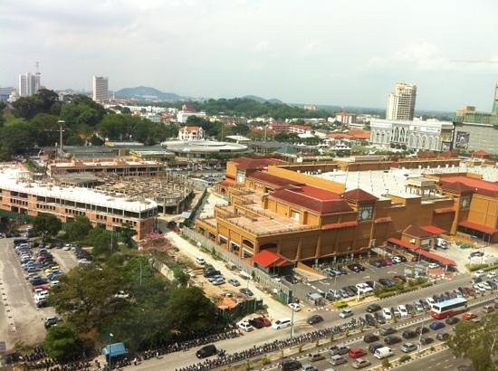 Holiday Inn Melaka:                   City View. Fantastic!
