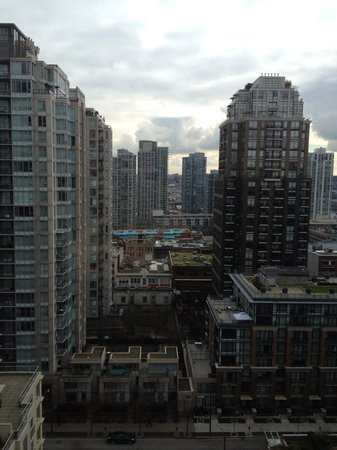 LEVEL Furnished Living :                                     View from the 17th floor