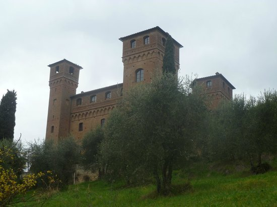 Castello delle quattro torra:                   View of the towers