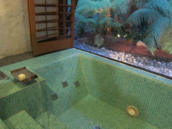 Balinese Retreat:                   Spa bath