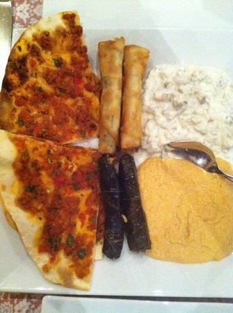 Restaurant Pinar:                   piatto di antipasti B