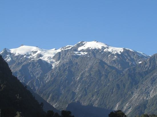 Scenic Hotel Franz Josef Glacier Hotel: view from my room