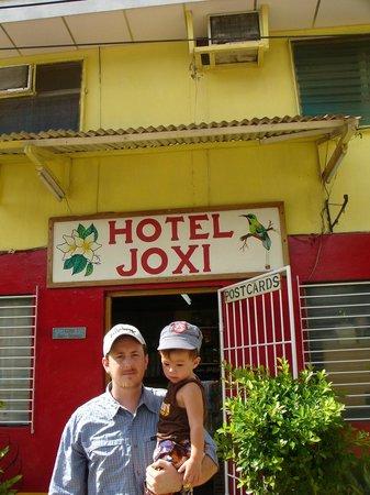 HC Joxi Hotel:                   Front of Hotel Joxi