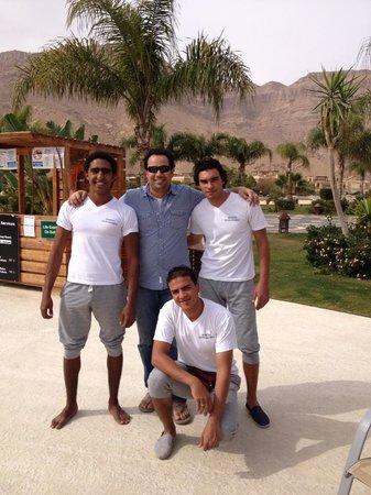 Movenpick Resort El Sokhna:                                     Good team