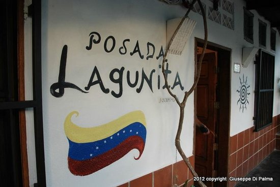 Posada Lagunita:                   l'ingresso