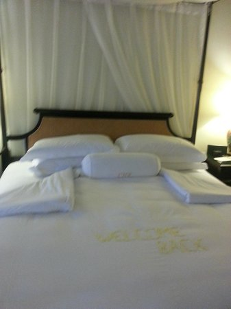 Cameron Highlands Resort:                   the spacoius soft comfortable king sized bed