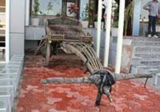 Hotel Umaid Villa: Bull cart