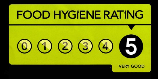 Image result for five star hygiene rating logo