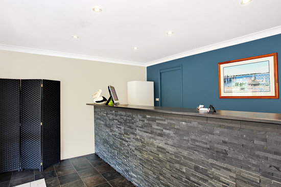 Lake Macquarie Motor Inn: Reception