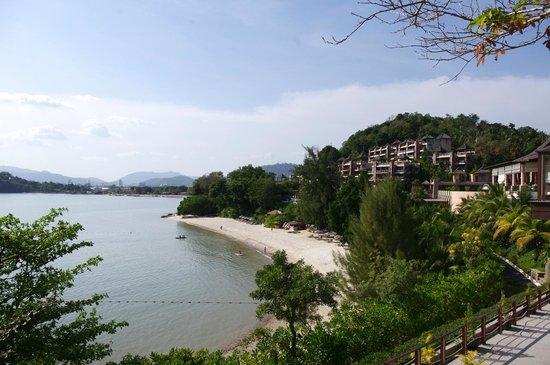 เดอะ เวสทิน สิเหร่เบย์ รีสอร์ท แอนด์ สปา: Vue plage