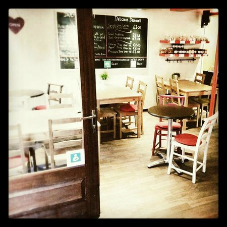 The Little Love Food Company: New Seating!!