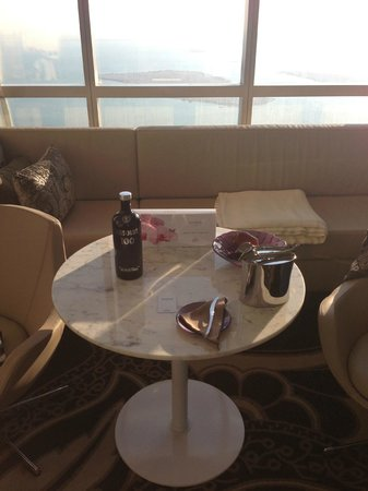 Jumeirah at Etihad Towers:                   View from 59th floor