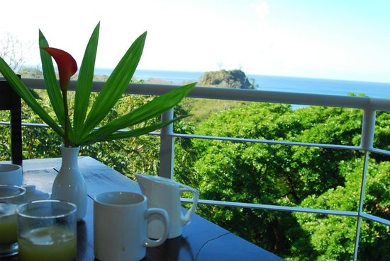 The Papaya Lounge Restaurant :                                     Another shot of the fabulous view