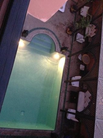 Villa Amira et SPA:                   the pool from our balcony