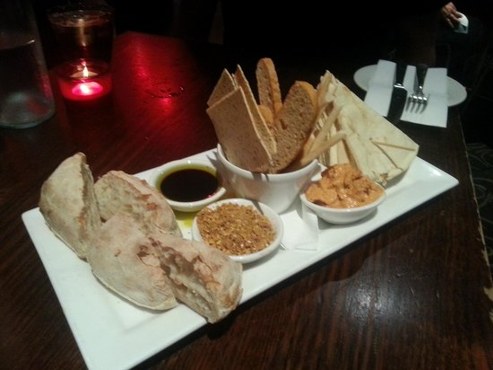 The Dublin Hotel:                   yummy dips really good!!
