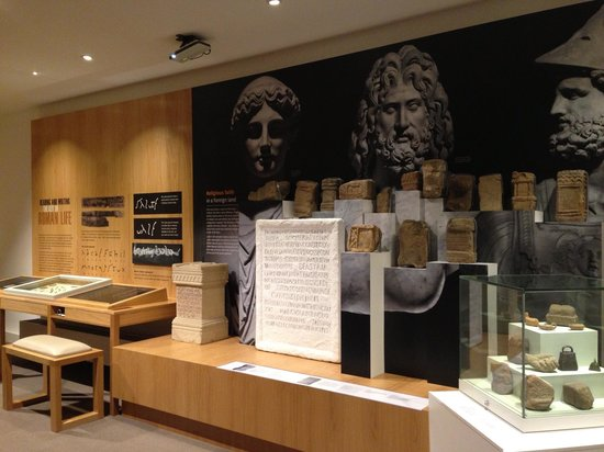 Roman Army Museum:                   A display