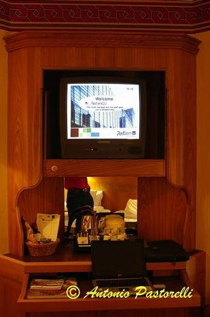 Radisson Blu Royal Viking Hotel, Stockholm: TV chambre