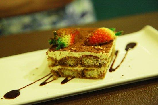 Amici Authentic Italian Restaurant: tiramisu