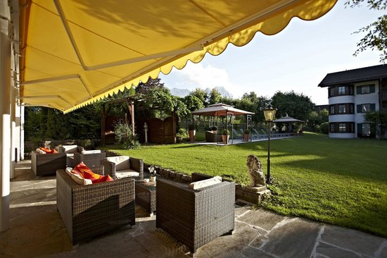 Best Western Hotel Obermuehle : Terrace