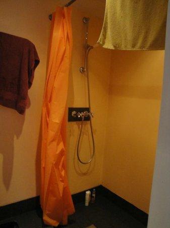 Pension De Laurier:                   The shower
