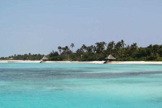 Olhuveli Beach & Spa Resort:                   местность                 