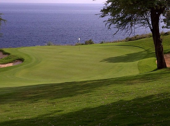 Four Seasons Resort Lana'i, The Lodge at Koele:                   Golfing at Manele Bay