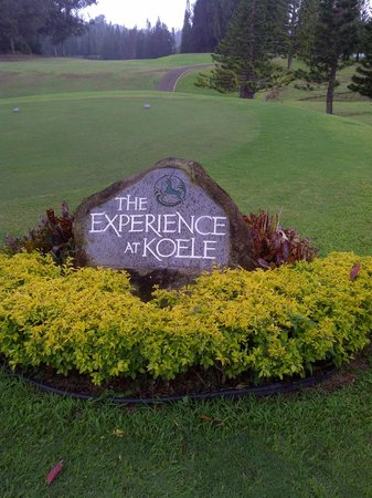 Four Seasons Resort Lana'i, The Lodge at Koele:                   The Experience @ Koele is awesome