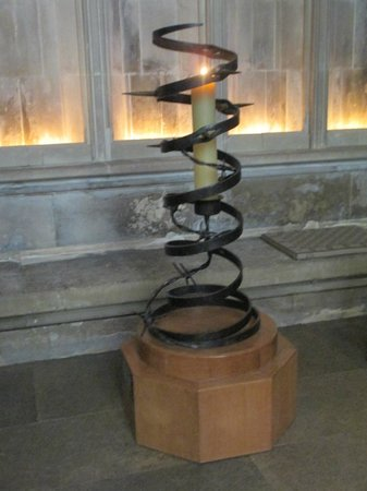 Salisbury Cathedral: Eternal flame to recognize the home of Amnesty International
