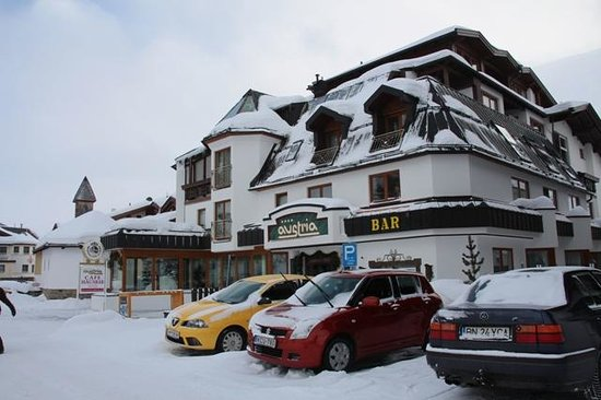 Hotel Austria Bellevue:                   Ansicht Hotel