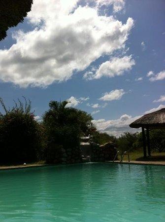 Cheetah Inn:                   Een heerlijk rust momentje bij het zwembad!!