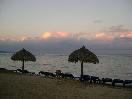 Sunscape Splash Montego Bay:                   Morning sunset