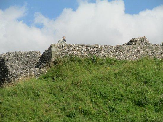Old Sarum: The largest remaining foundation