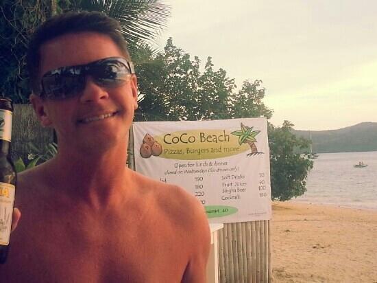 Panwa Boutique Beach Resort: on the beach at the bar