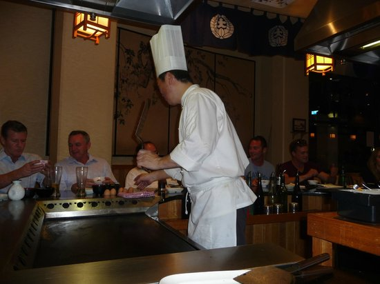 Oyama: Our Chef on the night