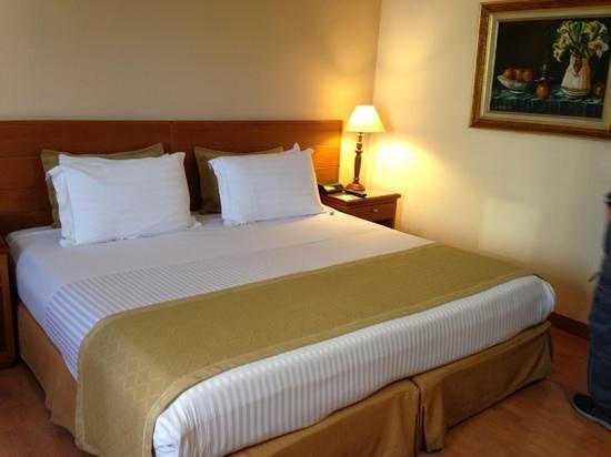Hotel Porton Medellin:                   cama doble extra grande