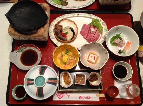 Tsuetate Onsen Hizenya: la cena