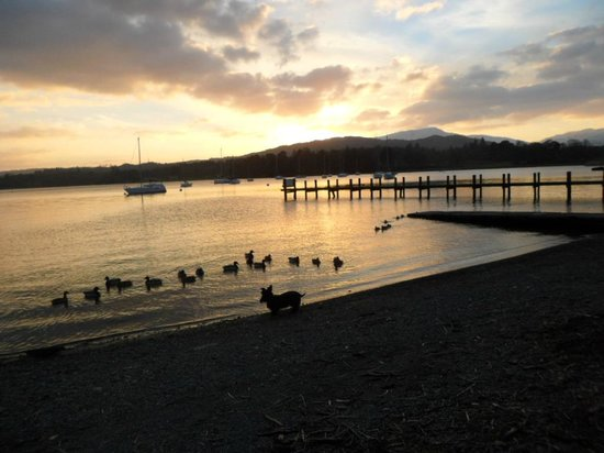 Waterhead Hotel:                   The day before the snow
