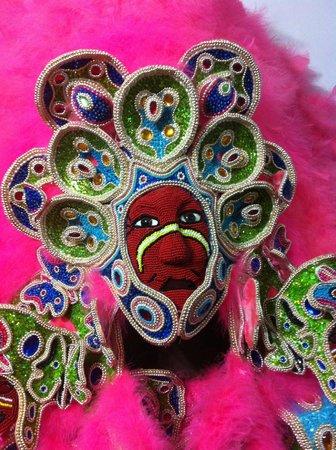 Backstreet Cultural Museum Mardi Gras Indian outfit. Backstreet Cultural Museum mardi gras indian costume & Mardi Gras Indian outfit - Picture of Backstreet Cultural Museum ...