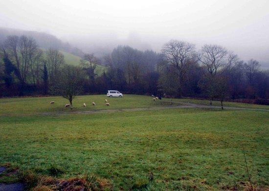 Westermill Farm holidays Ltd : Feb 2013 Camper vaning