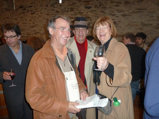 Loire Valley Wine Tour - Day Tours:                   Enjoying the wine tasting with Colin