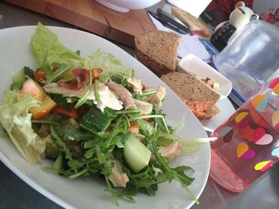 Deli on The Hill:                                     salad Sofie special