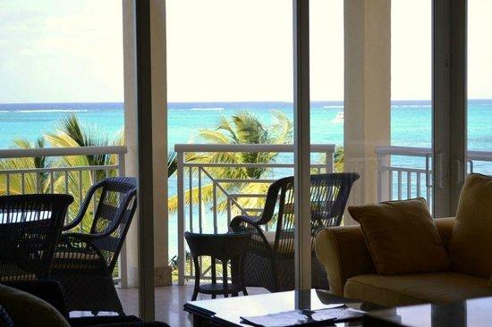 Windsong Resort:                   View from the living room