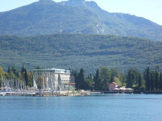 Lido Palace:                   Hotel from Lake Garda