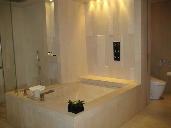 Park Hyatt Beijing:                   Walk-In Shower; Oversized Tub; Japanese Style-Toilet