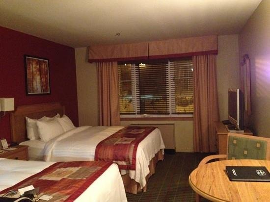 Residence Inn Mont Tremblant Manoir Labelle: 2 queen beds room