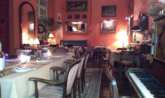 The Red Inn :                   Inside